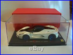 1/18 BBR Ferrari La Ferrari Italian White/Met. Blue Roof limited 8 Pieces NIB