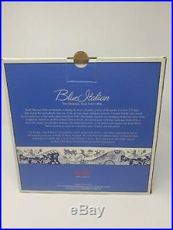 12 Piece Place Setting Spode Blue Italian Made in England NEW IN BOX
