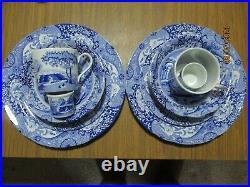 14 piece Spode Blue Italian