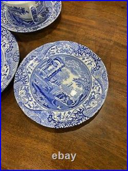 2- 5 Piece spode blue italian imperial place settings