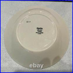 2 piece set SPODE LONDON TOWER Tray REPAIRED and bowl