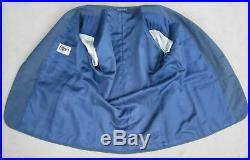41S BIJAN Beverly Hills 2-Piece Suit Men 41 Blue Italian Fully Canvassed Bespoke