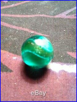 68 blue core lute Colored Glass One Small Patch Good Shape