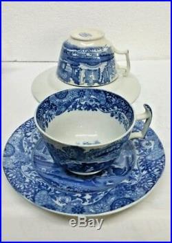 8 Pieces Copeland Spode's Italian Style Porcelain England Blue & White Tea Set