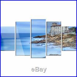 Beautiful Italian Seashore View' 5 Piece Photographic Print on Metal Set