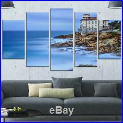 Beautiful Italian Seashore View' 5 Piece Wall Art on Wrapped Canvas Set