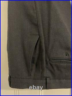 Ben Sherman Blue Italian Wool Camden Fit 3 Piece Suit