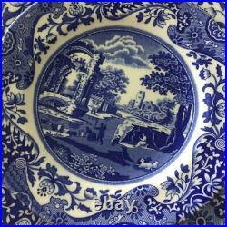 Blue Italian 12 Piece Home UK Dinnerware Set Service for 4 Microwave Safe USA