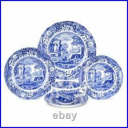 Blue Italian 5 Piece Bone China Place Setting, Service for 1
