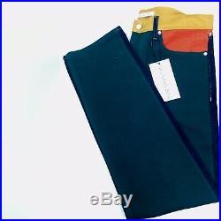 CALVIN KLEIN Men's Ukelely Patch Jeans Italian Denim 34x32 NWT