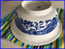 COPELAND SPODE Blue ITALIAN pitcher basin soap dish toothbrush cup 6 pieces