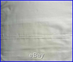 Calvin Klein 4 Piece Cotton King Size Sheet Set 320 Thread Count Sateen Gray