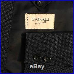 Canali Proposta Italian luxury navy DB nailshead 2 piece suit men size 42s 33x32