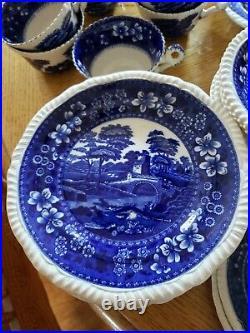 Copeland Spode Tower Blue Transferware 1927. 69 pieces. Excellent Condition