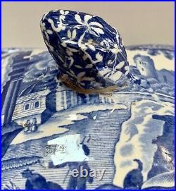 Copeland Spode's Blue Italian Lidded Tureen Earlier Piece