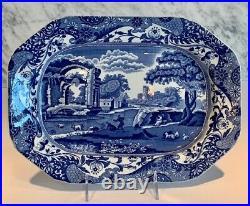 Copeland Spode's Blue Italian Platter 12.5 Earlier Piece