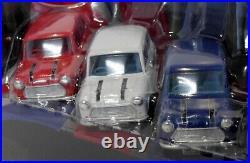 Corgi Diecast 36502 3 Piece Mini Set & Blue & White Coach The Italian Job