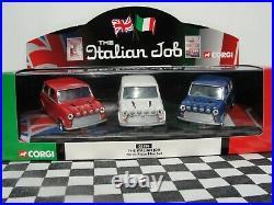 Corgi Diecast The Italian Job Three Piece Mini Set 05506 New Old Stock Boxed