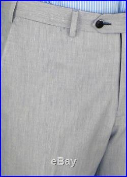 DTI BB Signature Italian Mens Suit 2 Button Trim Fit Center Vent Jacket Piece