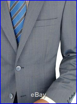 DTI BB Signature Italian Mens Wool Suit Set 3 Piece Jacket Pant Extra Trousers