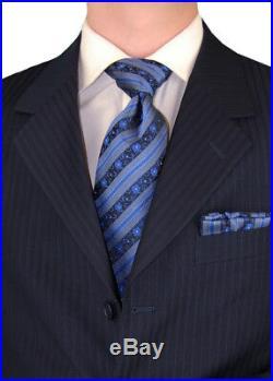 DTI GV Executive Mens Italian Suit Wool 3 Button 2 Piece Jacket Pants