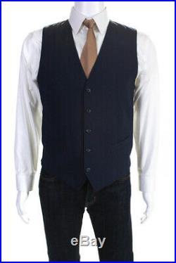 Dolce & Gabbana Mens Notched Collar Slim Fit 2 Piece Blazer Set Size Italian 48