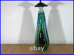 EXTREMELY RARE PIECE OF MID-20th CENTURY MURANO DECANTER By Fulvio Bianconi