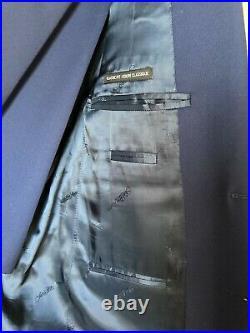 Ermenegildo Zegna 2 piece Blue Suit 40S