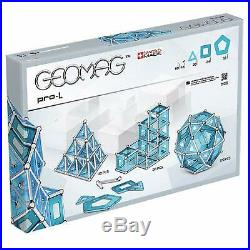 Geomag 025 Pro-L Building Set, Blue And Silver Metal, 174 Pieces