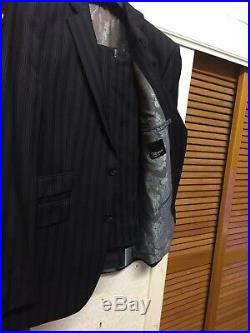 Gibbons London Mens Wool Blend Two Pieces Regular Suit Size U. K 38/32w Eur 48