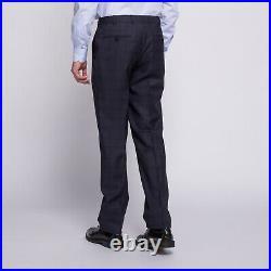 ISAIA Napoli 2-piece Gregorio blue tile full canvas suit 38R US 48R EU Drop7 NEW