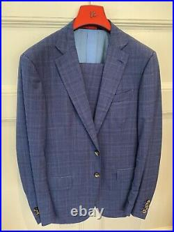 Isaia Mens Two Piece Suit 52R (Italian)