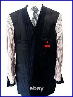 Isaia Napoli The World Prestigiou Men 2 Piece Suit Made In Italy Label Size 56l