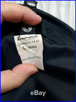 Italian police Polizia 2 Piece jacket blue law enforcement Fleece M / L 50 52