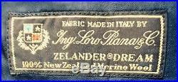 J. Crew Ludlow 2 Piece Suit Italian Zelander Dream 100% Loro Piana Merino Wool