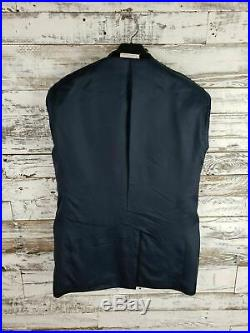 John W Nordstrom Mens Navy Blue Italian Wool Suit 2 Piece 2 Button 40R W34