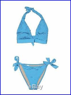 La Perla Women Blue Two Piece Swimsuit 46 italian