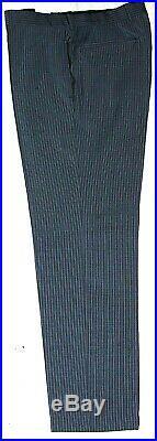 Luxury Mens Hugo Boss Pinstripe 2 Piece Suit 40r W34 X L32