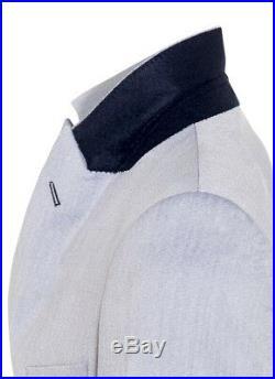 Men slim fit 3 piece suit Light Blue For Weddings Formal Occasion Work