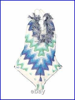 Missoni Mare Women Blue One Piece Swimsuit 40 italian