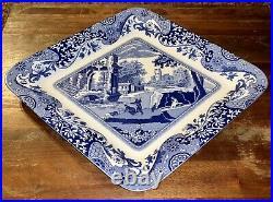 NEW Spode Blue Italian 200th Anniversary 2 Piece Fruit Strainer NIB