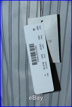 NWT J. CREW navy triple patch pocket Italian wool Rhodes 2-button blazer 0 C9131
