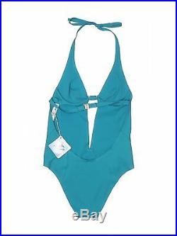 NWT La Perla Women Blue One Piece Swimsuit 40 italian