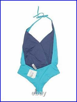 NWT La Perla Women Blue One Piece Swimsuit 42 italian