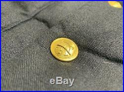 Polo Ralph Lauren Men's Wool Down Vest Jacket Bullion Patch Crest Size Large