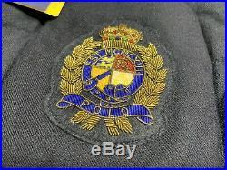 Polo Ralph Lauren Men's Wool Down Vest Jacket Bullion Patch Crest Size XXL 2XL