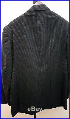 Ralph Lauren-Blue Label-Wool-2 piece suit-Made in Italy-Size 42