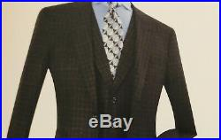 Royal Diamond Mens Luxury Wool Feel 3 Piece Suit Available Sizes Listed