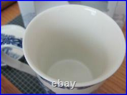 SPODE SIGNATURE BLUE ITALIAN ICONIC MUG CUP AND CERAMIC COASTER NEw 2 Pieces