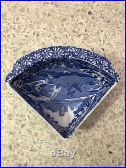 Spode BLUE ITALIAN 11 PIECE BLUE SERVING SET